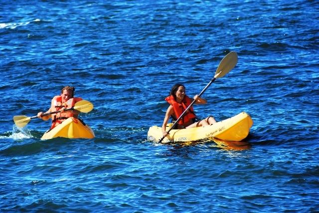 Actividades acuáticas en Puerto Vallarta